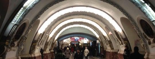 metro Ploshchad Vosstaniya is one of Метро Санкт-Петербурга.