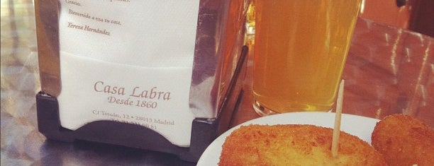 Casa Labra is one of BEBER Y COMER EN MADRID.