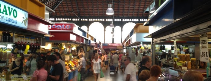 Mercado de Atarazanas is one of MÁLAGA GASTRO.