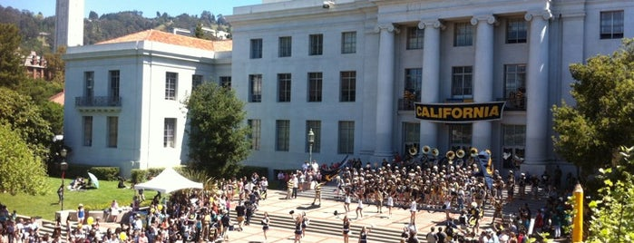 Sproul Plaza is one of Let's Get Lost.