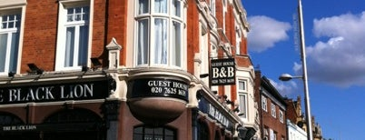 The Black Lion is one of London Restaurants.