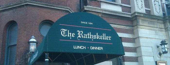 The Rathskeller is one of Dan's Places.
