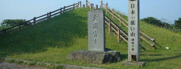 大潟富士 is one of 氣になる.