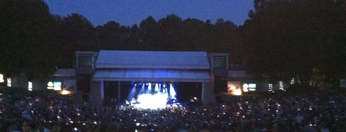Chastain Park Amphitheater is one of Places you wouldn't expect in Atlanta.