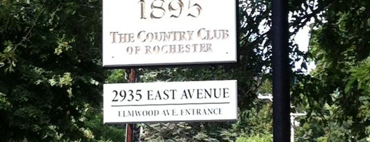 Country Club of Rochester is one of The Best Spots In Rochester, NY.