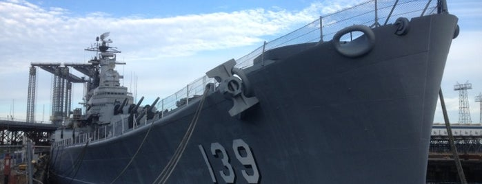 USS Salem (CA 139) Floating Museum is one of Best Haunts and Scares In United States-Halloween.