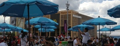 McDonald's is one of Olympic Venues.