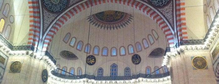 Süleymaniye-Moschee is one of 1stANBUL Tarih turu.