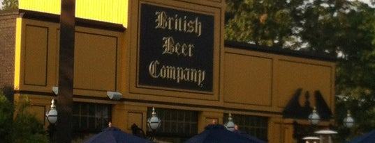 The British Beer Company is one of Kids Eat Free.