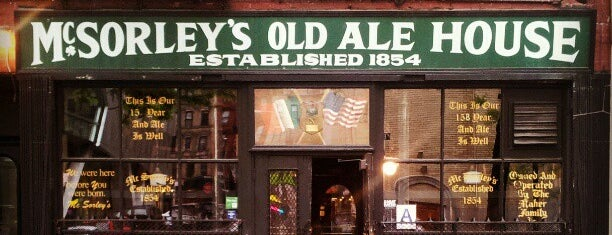 McSorley's Old Ale House is one of New York III.