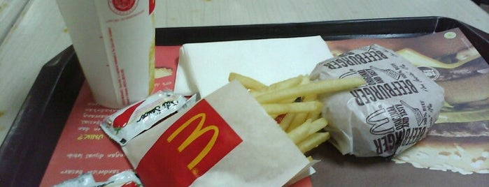 Mc Donald's is one of My big M.