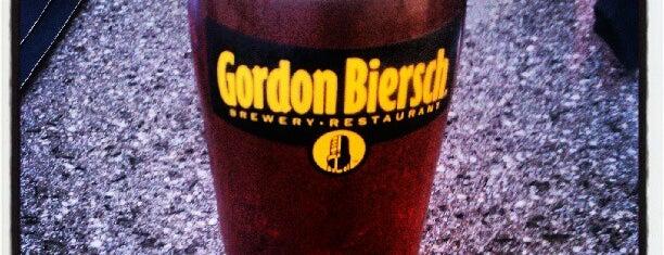Gordon Biersch is one of Favorite Places.