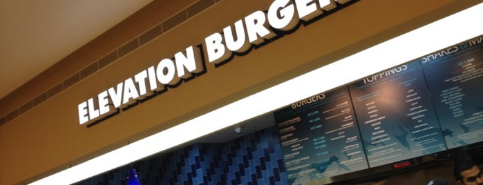 Elevation Burger is one of مطاعم ابي اشوفها.
