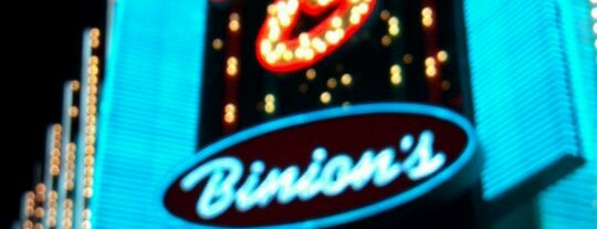Binion's Hotel & Casino is one of Recommendations from you to me 4square and 4cast.