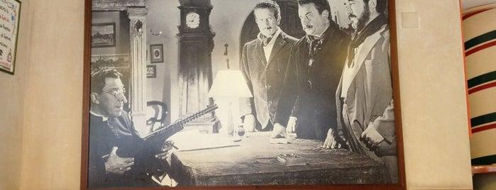 Don Camillo e Peppone is one of Ruta michelín.