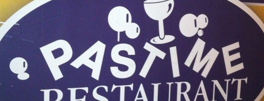Pastime Restaurant is one of BR eats.