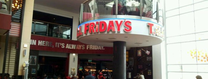 TGI Fridays is one of Restaurants I've been to.