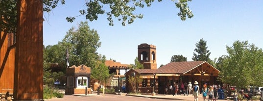 Cheyenne Mountain Zoo is one of Flying High in Colorado.