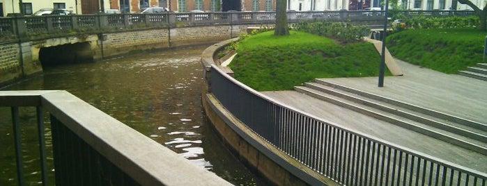 Dijleterrassen is one of My favorite places in Leuven, Belgium  #4sqCities.