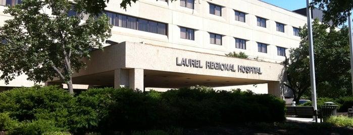 Laurel Regional Hospital is one of hospitals.