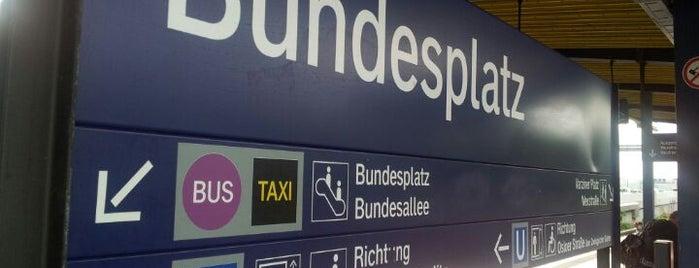 S+U Bundesplatz is one of U-Bahn Berlin.
