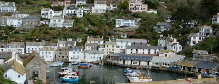 Polperro Harbour is one of England 1991.