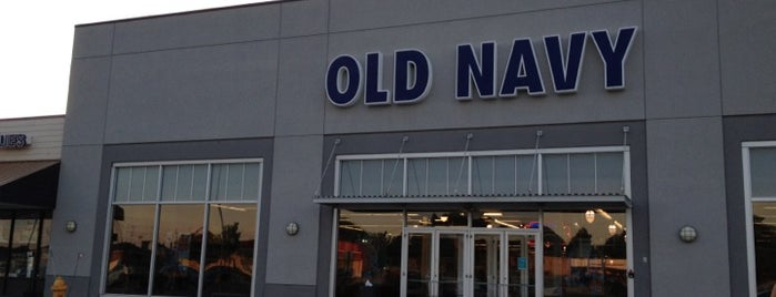 Old Navy is one of Crossroads.