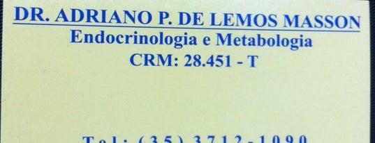 Dr. Adriano P. Lemos Masson - Endocrinologia e Metabologia is one of Hotspots WIFI Poços de Caldas.