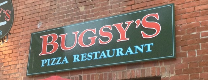 Bugsy's Pizza Restaurant and Sports Bar is one of Essential Old Town.