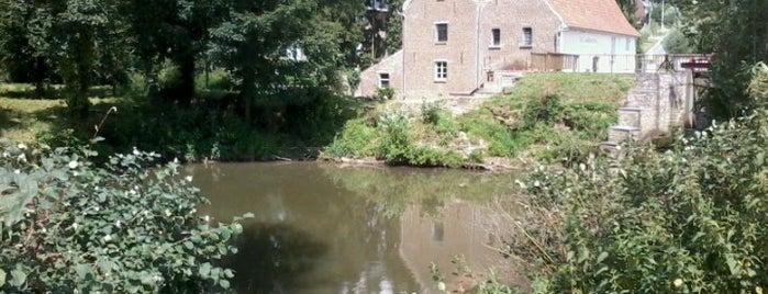 De Zwalmmolen is one of Ename Abdijham.
