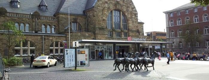 Aachen Main Station is one of Bahnhöfe Deutschland.
