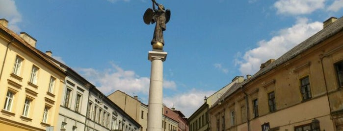Angel of Užupis is one of Vilnius: student edition.