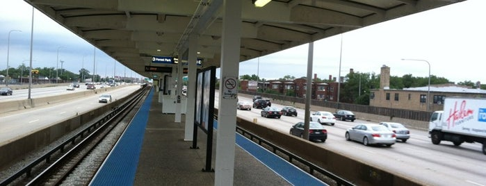 CTA - Irving Park is one of CTA Blue Line.