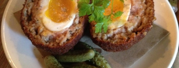 The Fat Radish is one of Scotch Eggs NYC.