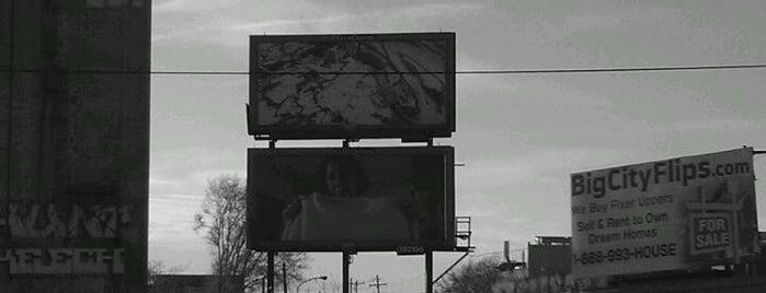 Zoe Strauss Billboard Project #5 is one of Mayorships.