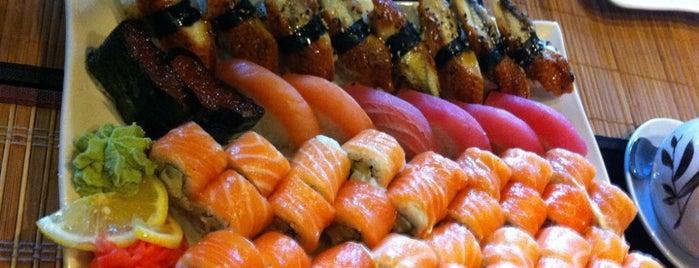 Eurasia is one of Sushi. Kyiv. Японская кухня.