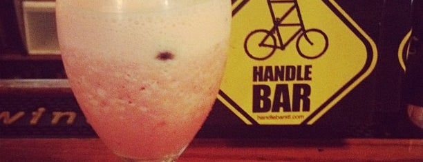 HandleBar is one of Where to get a drink.