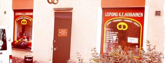 Leipomoliike K. E. Avikainen is one of Visit Kallio: What to See & Do in Uptown Helsinki.