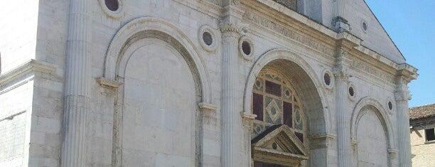 Tempio Malatestiano is one of Rimini.