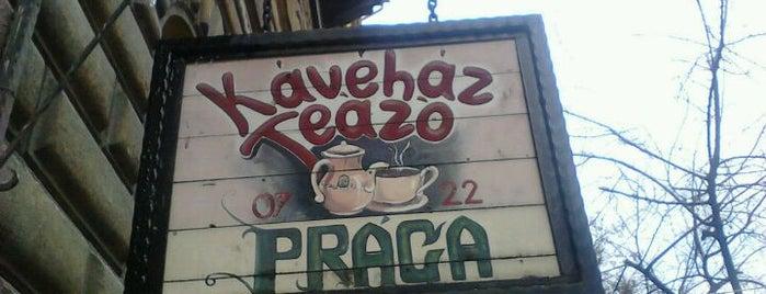 Prága Kávéház és Teázó is one of Coffee.