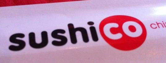 SushiCo is one of Best Restaurants Of West Atasehir.