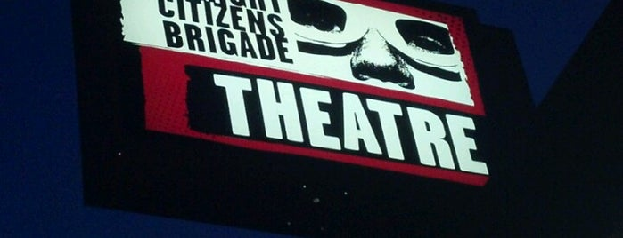 Upright Citizens Brigade Theatre is one of Recommendations from you to me 4square and 4cast.