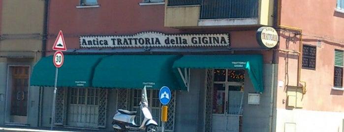 Antica Trattoria della Gigina is one of Osterie senza Insegne.