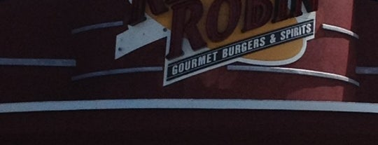Red Robin Gourmet Burgers is one of 20 favorite restaurants.