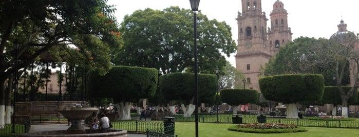 Plaza de Armas is one of Morelia.
