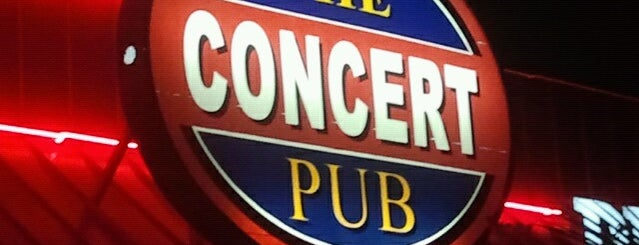 The Concert Pub is one of Favorites.