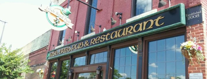 Irish Bred Pub is one of favorites.