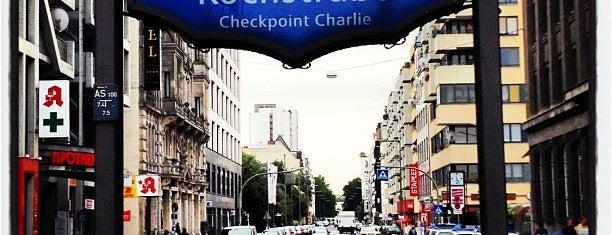 U Kochstraße is one of U-Bahn Berlin.