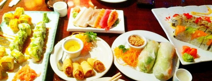 Zenna Thai & Japanese is one of DFW -More Great Food.