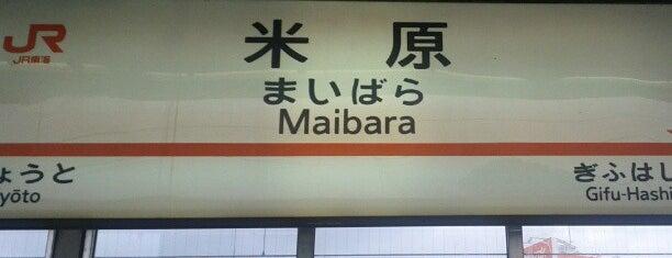 東海道新幹線 米原駅 is one of JR線の駅.